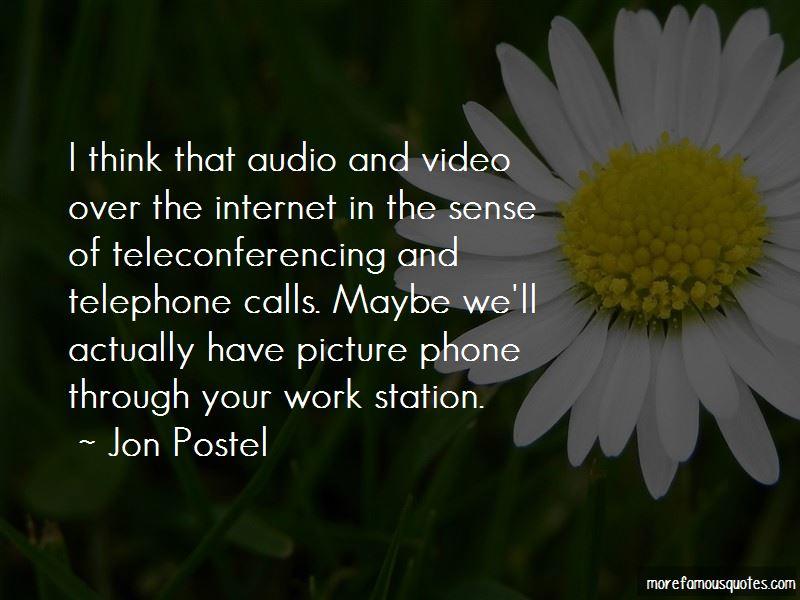 Jon Postel Quotes Pictures 2