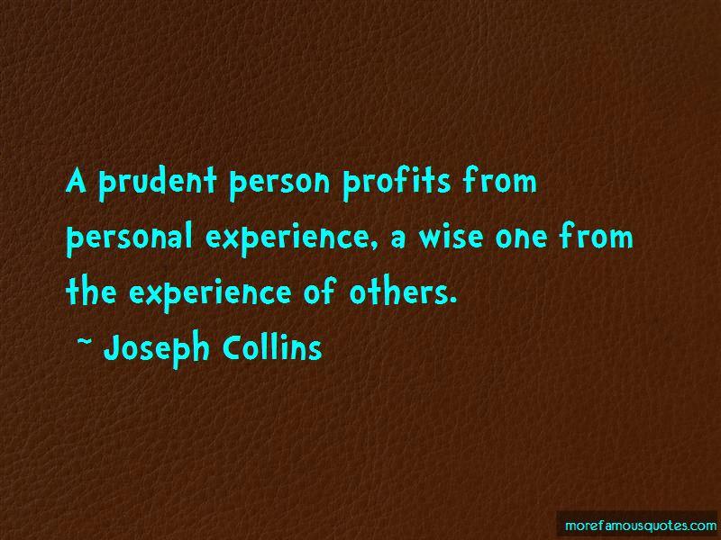 Joseph Collins Quotes