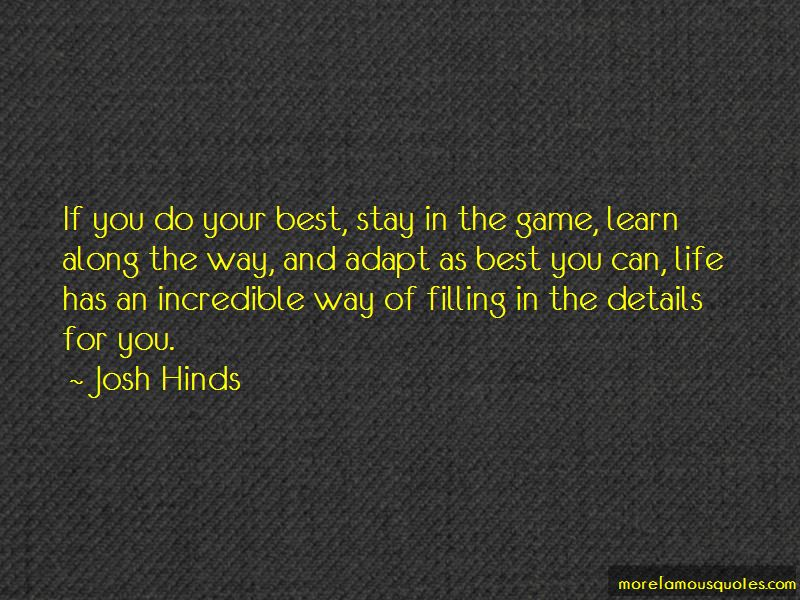 Josh Hinds Quotes Pictures 4