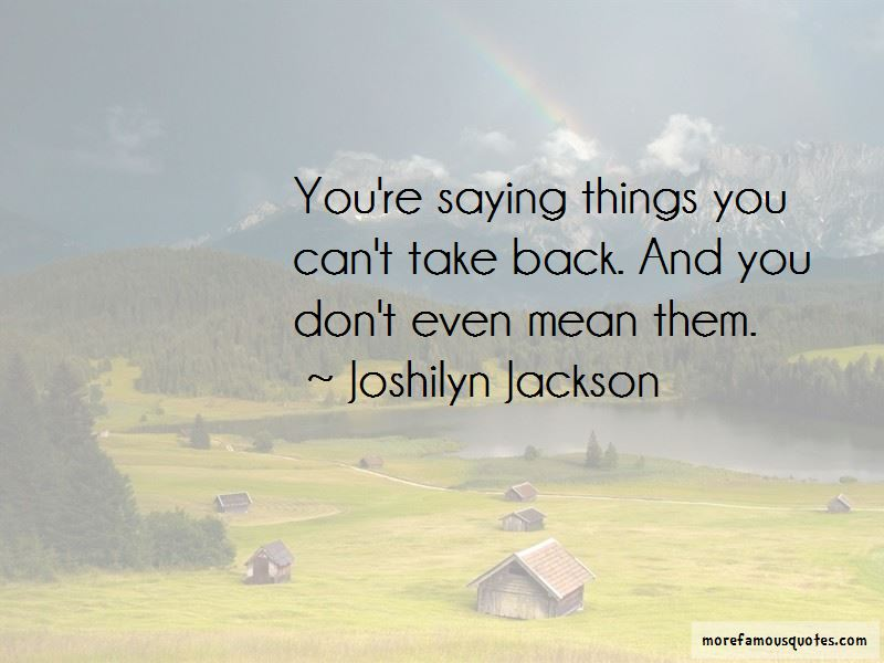 Joshilyn Jackson Quotes Pictures 2
