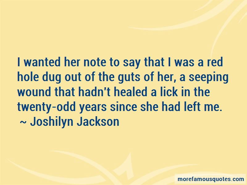 Joshilyn Jackson Quotes Pictures 4