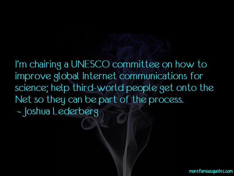 Joshua Lederberg Quotes