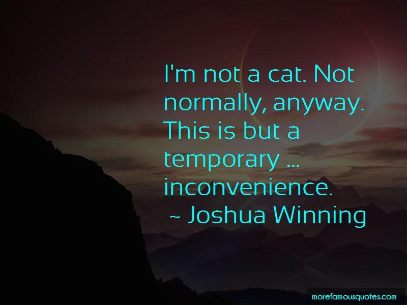 Joshua Winning Quotes Pictures 2