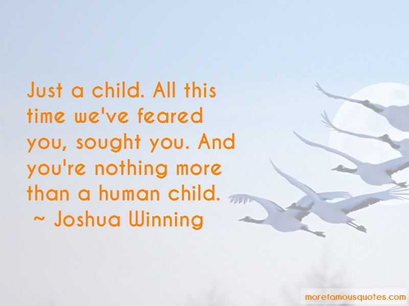 Joshua Winning Quotes Pictures 3