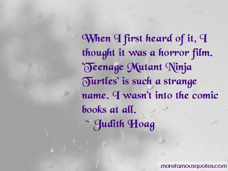 Judith Hoag Quotes Pictures 2
