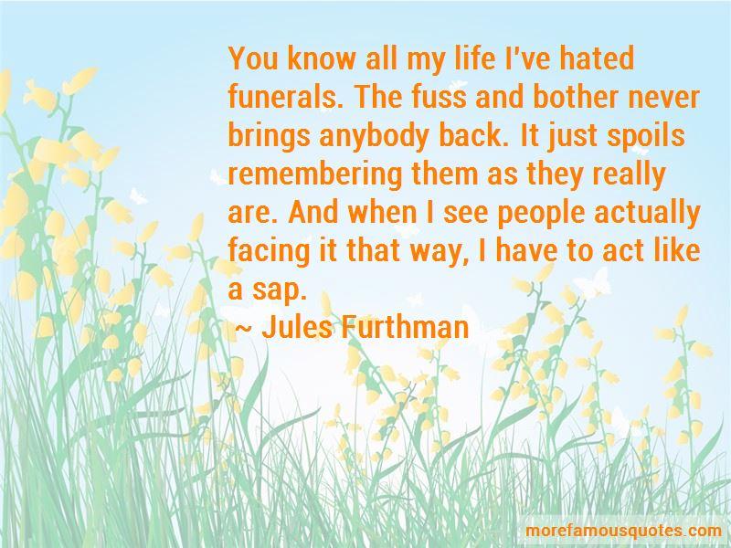Jules Furthman Quotes