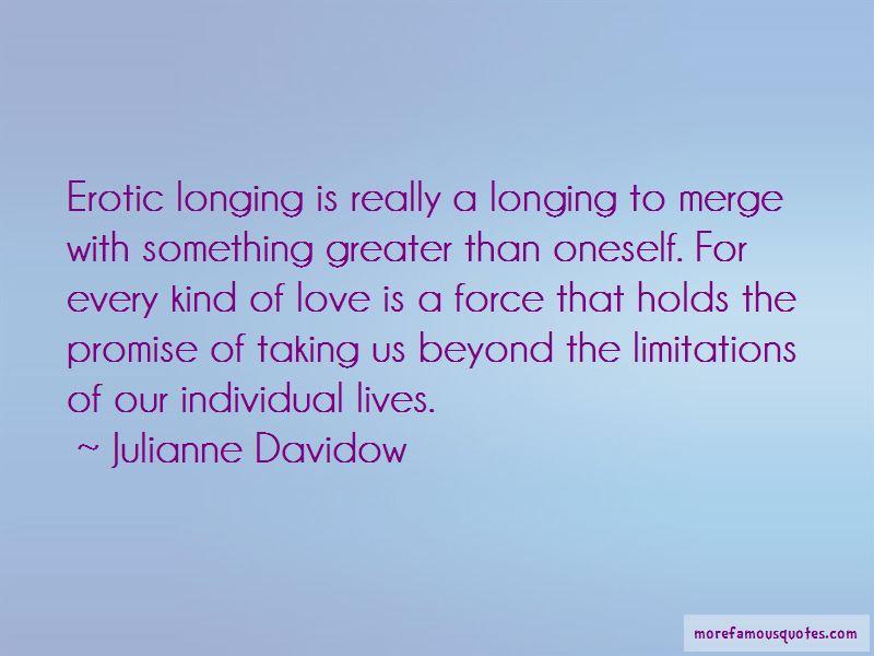 Julianne Davidow Quotes