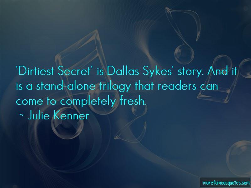 Julie Kenner Quotes
