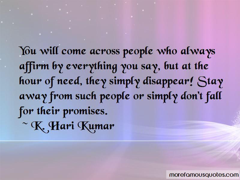 K. Hari Kumar Quotes Pictures 2