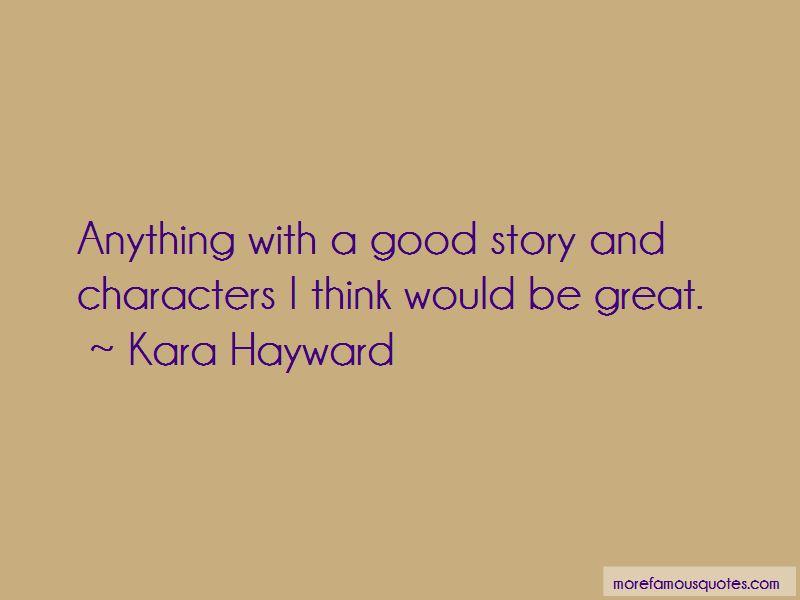 Kara Hayward Quotes Pictures 2