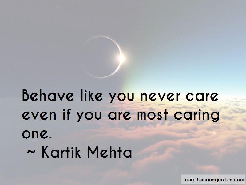 Kartik Mehta Quotes Pictures 3