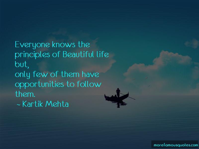 Kartik Mehta Quotes