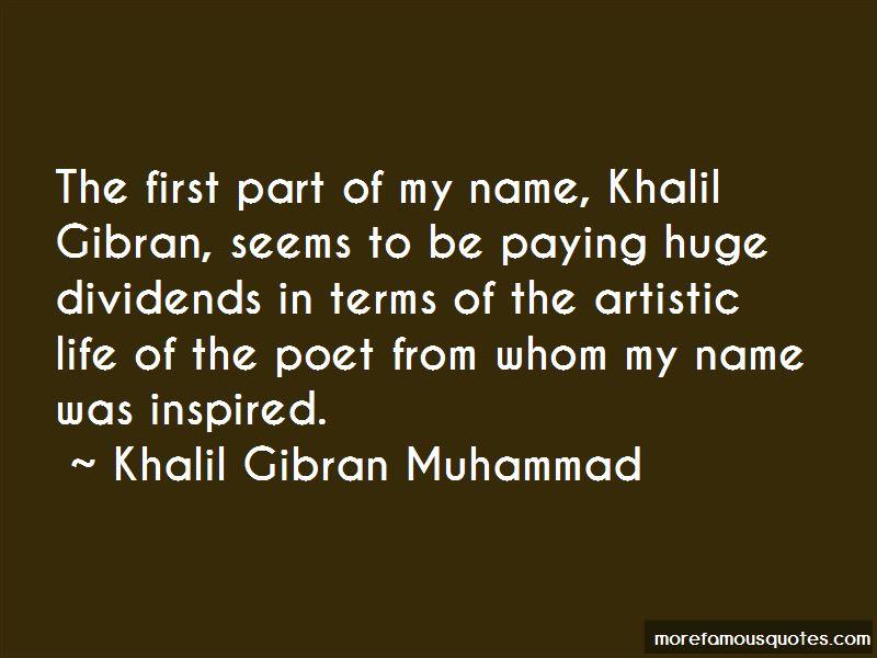 Khalil Gibran Muhammad Quotes