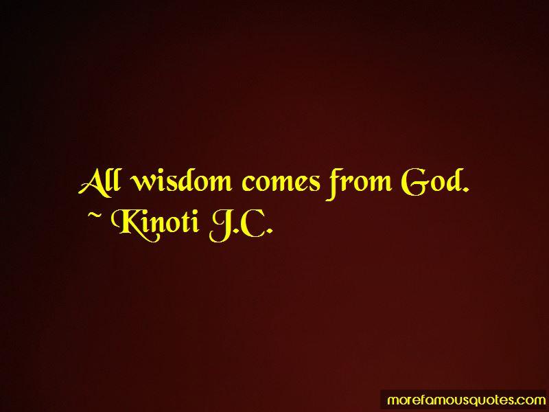 Kinoti J.C. Quotes Pictures 3