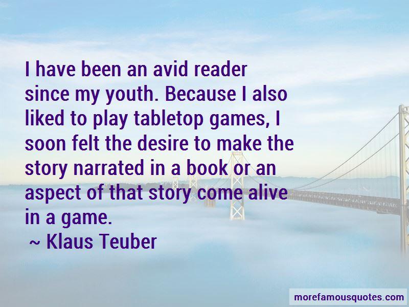 Klaus Teuber Quotes Pictures 3