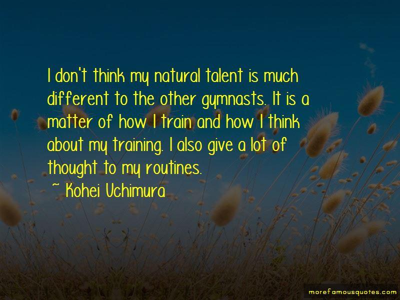 Kohei Uchimura Quotes Pictures 3