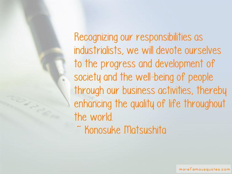 Konosuke Matsushita Quotes Pictures 2
