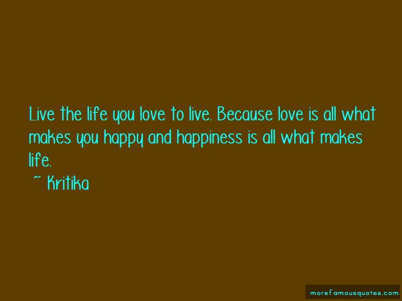 Kritika Quotes