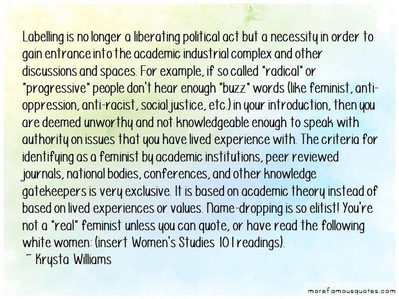 Krysta Williams Quotes
