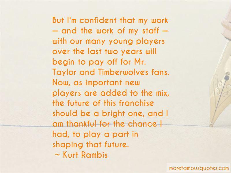 Kurt Rambis Quotes