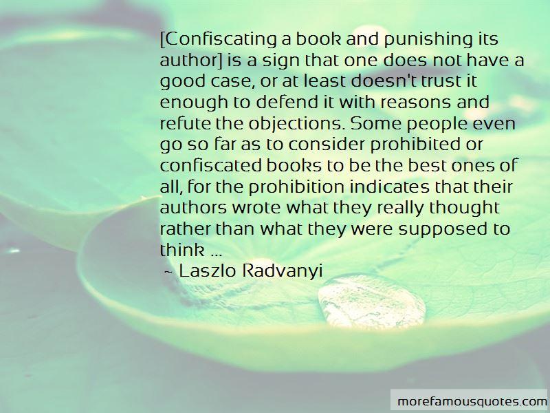 Laszlo Radvanyi Quotes