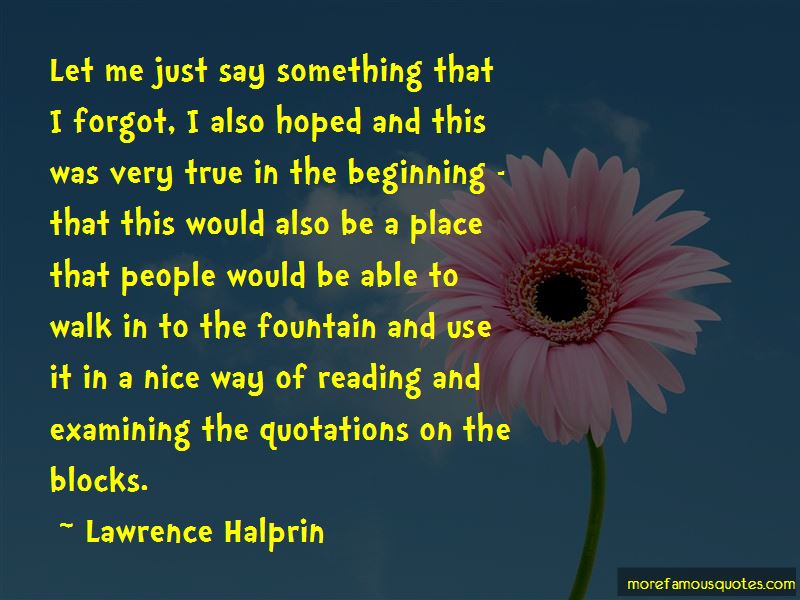 Lawrence Halprin Quotes Pictures 4