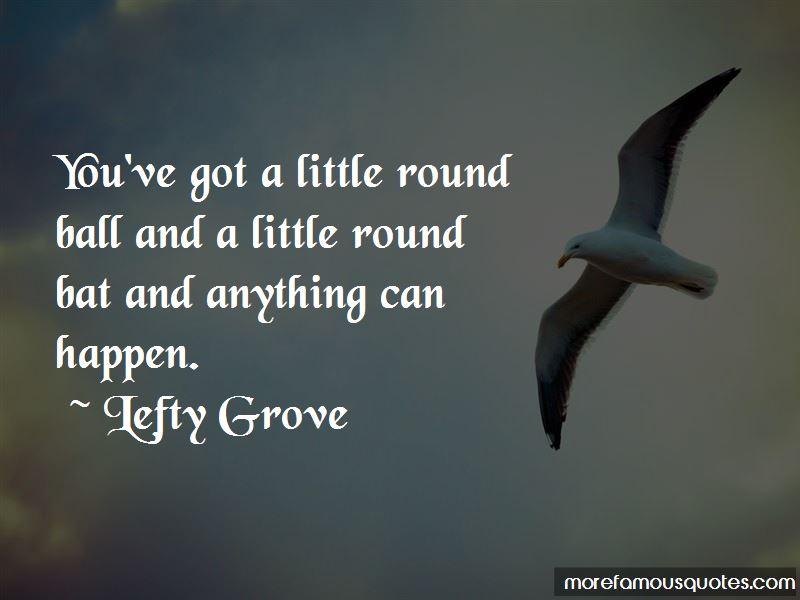 Lefty Grove Quotes