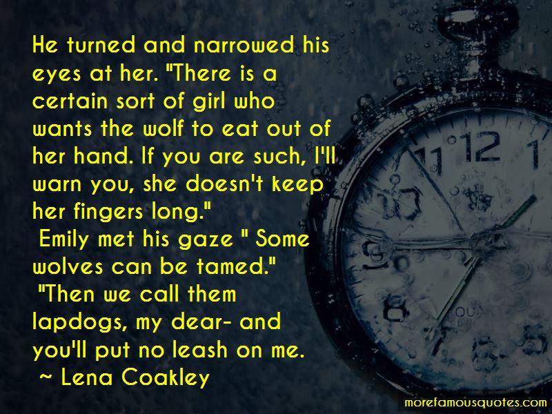 Lena Coakley Quotes Pictures 3