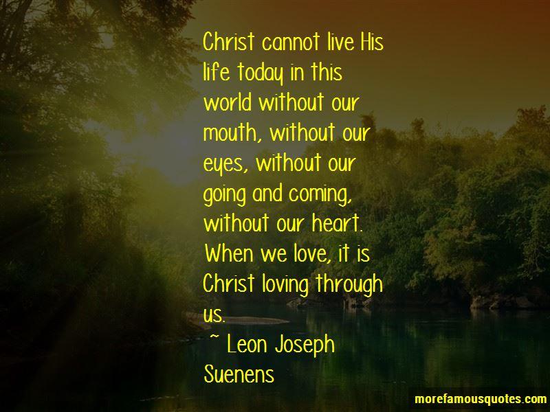 Leon Joseph Suenens Quotes Pictures 2