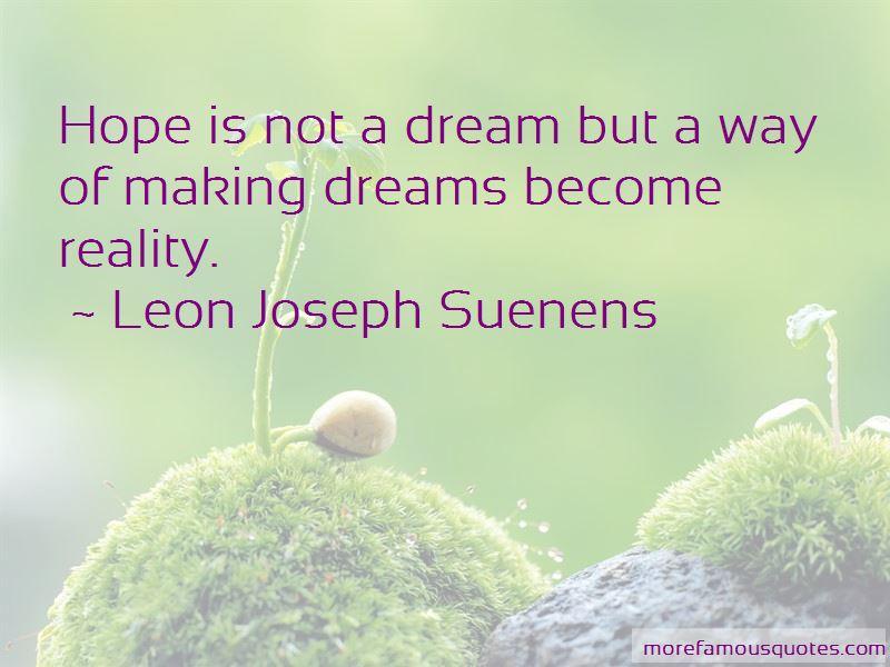 Leon Joseph Suenens Quotes