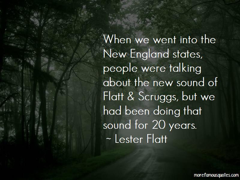 Lester Flatt Quotes