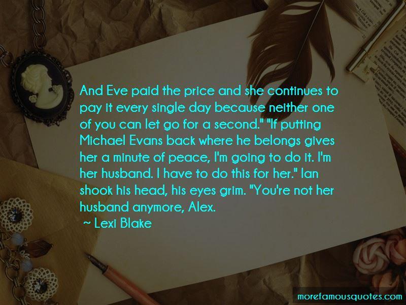 Lexi Blake Quotes