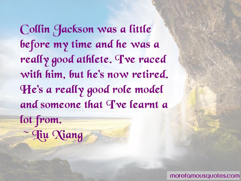 Liu Xiang Quotes Pictures 2