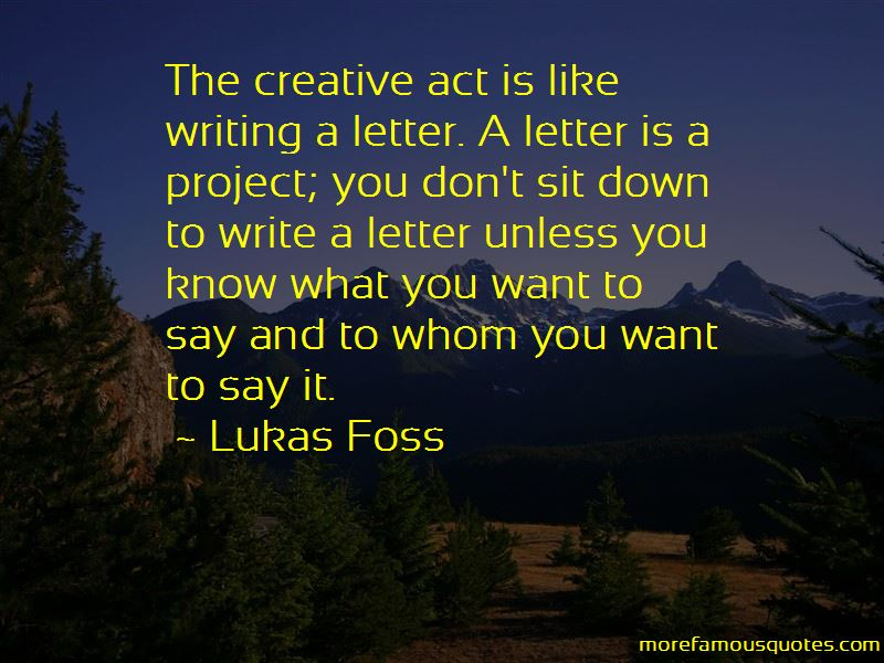 Lukas Foss Quotes Pictures 2