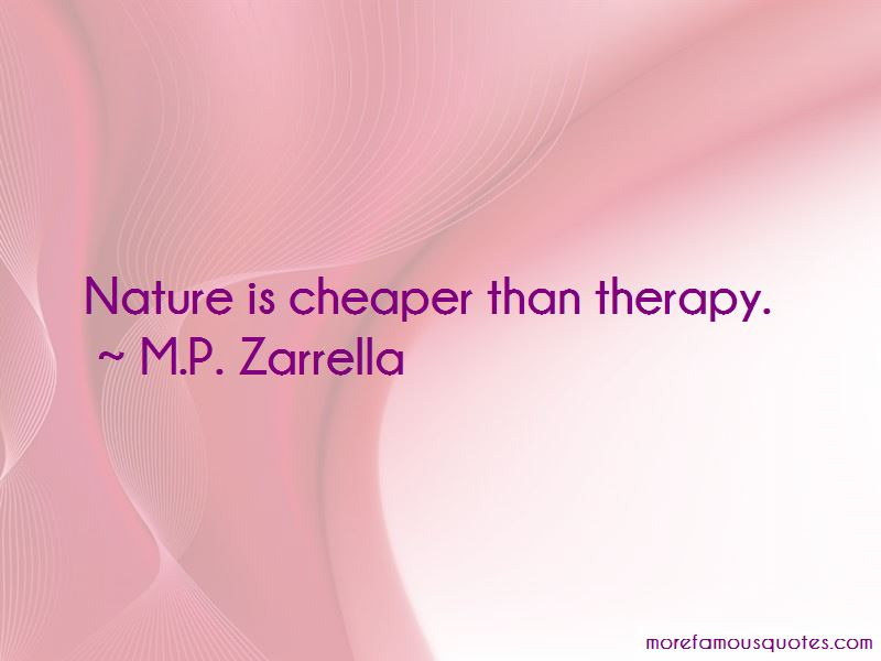 M.P. Zarrella Quotes
