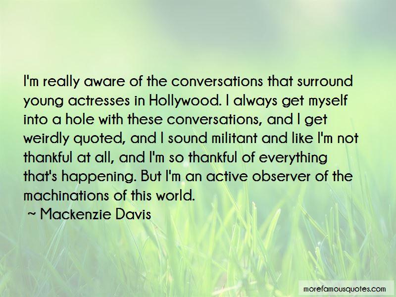 Mackenzie Davis Quotes Pictures 4