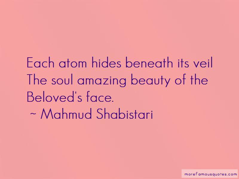 Mahmud Shabistari Quotes