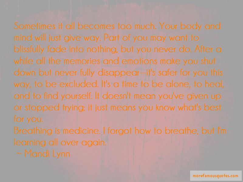 Mandi Lynn Quotes