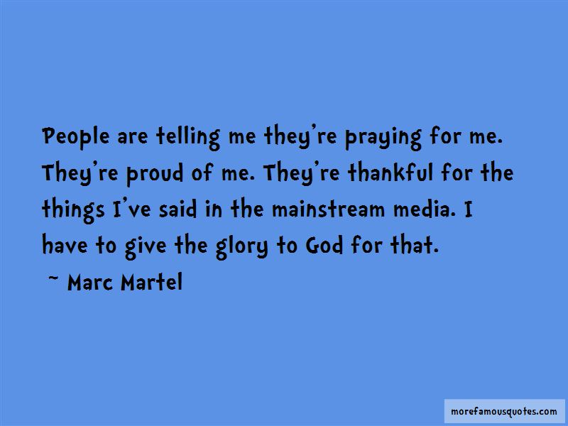 Marc Martel Quotes Pictures 2
