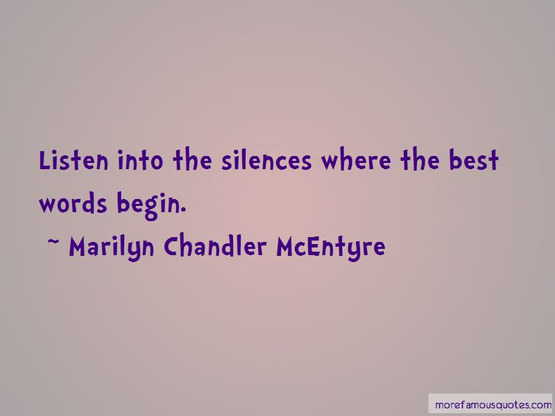 Marilyn Chandler McEntyre Quotes Pictures 3