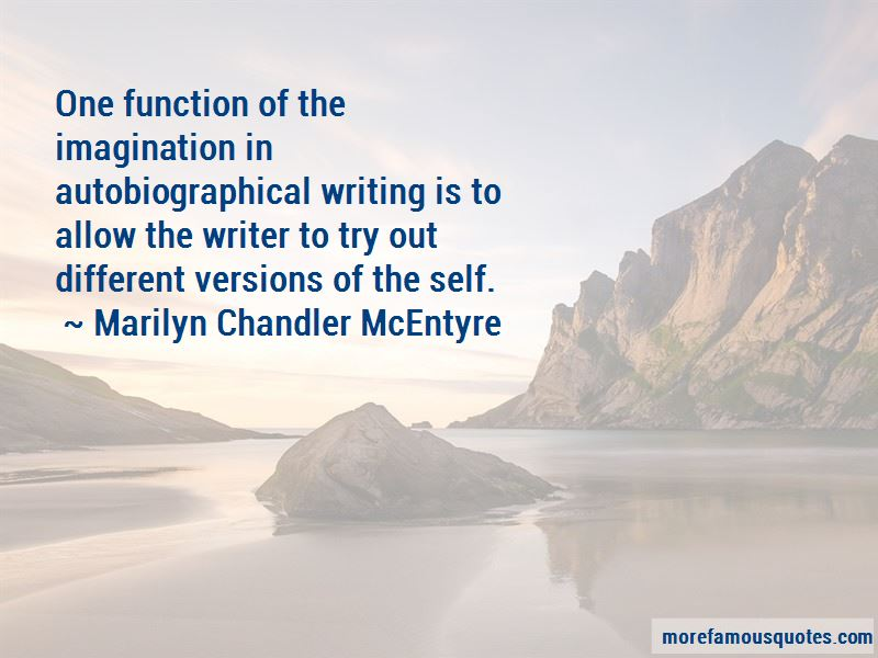 Marilyn Chandler McEntyre Quotes Pictures 4