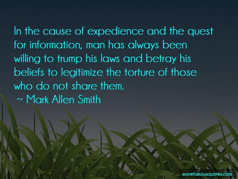 Mark Allen Smith Quotes