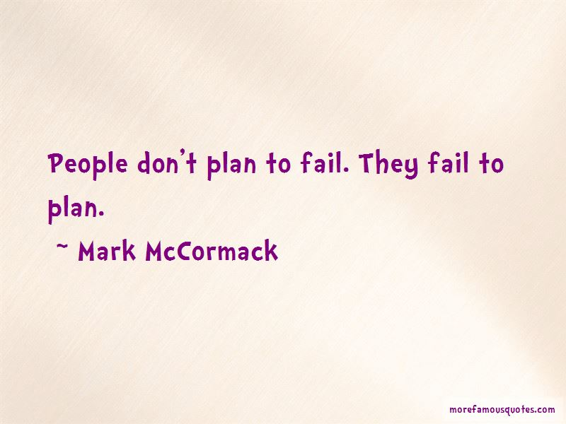 Mark McCormack Quotes Pictures 3