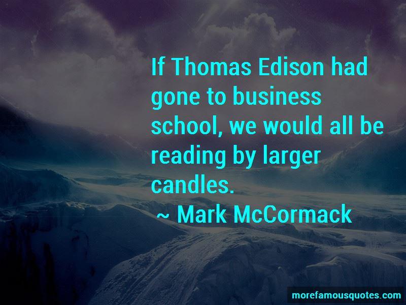 Mark McCormack Quotes
