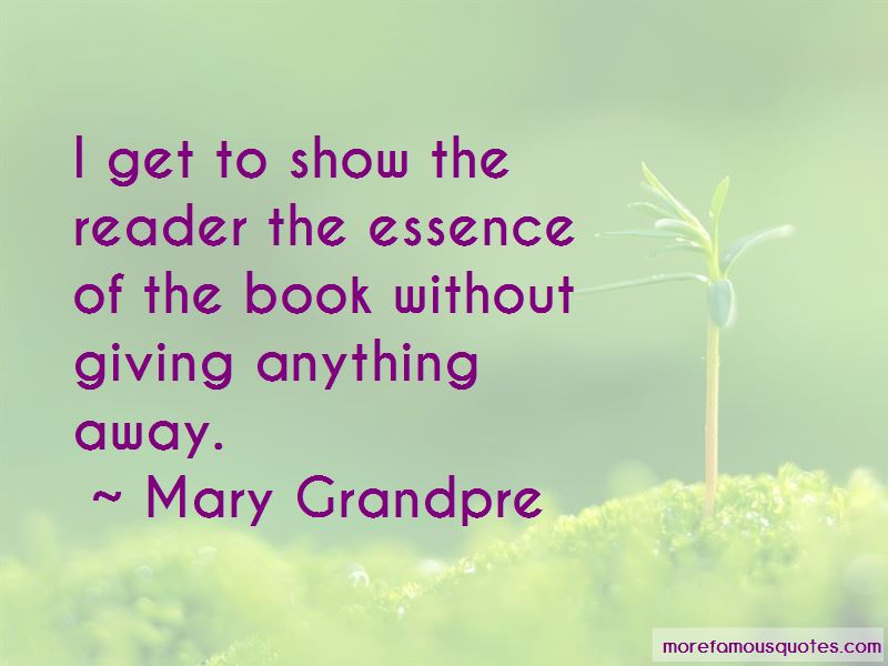Mary Grandpre Quotes Pictures 4