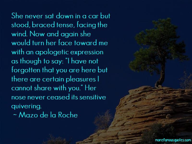 Mazo De La Roche Quotes