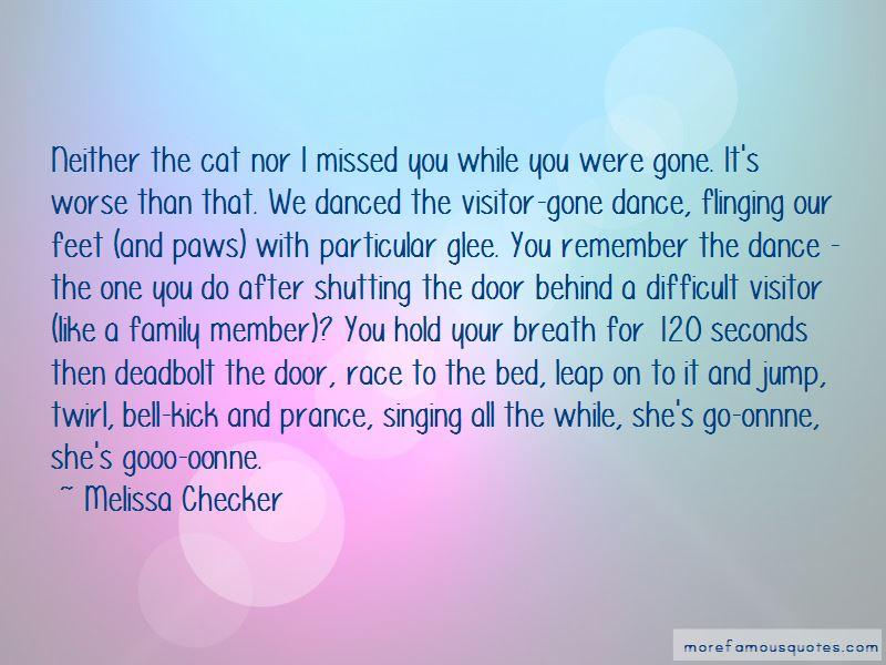 Melissa Checker Quotes