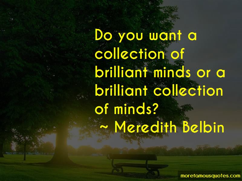 Meredith Belbin Quotes Pictures 2