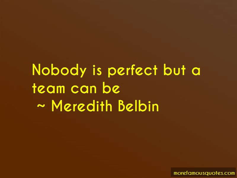 Meredith Belbin Quotes Pictures 4