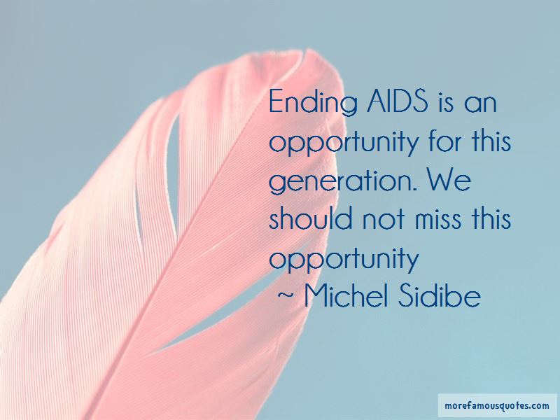 Michel Sidibe Quotes Pictures 3